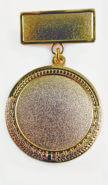 Медаль на колодке артикул: Артикул m31-1-gp