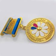 Медаль штампованная на колодке