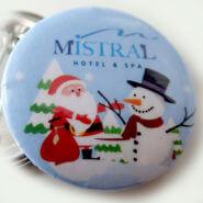 Закатной значок: Mistral