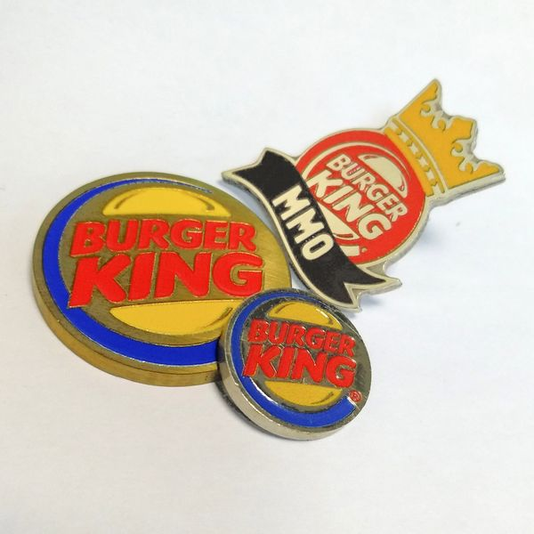 Значек: Комплект BurgerKing